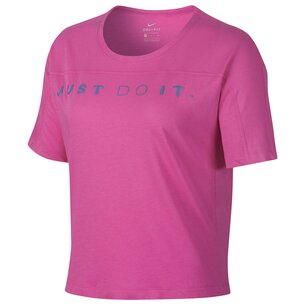 Nike Miler Surf T Shirt Ladies