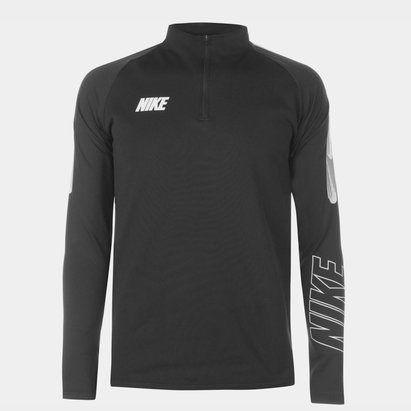 Nike Squad Drill Top Mens Black