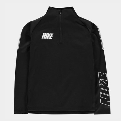 Nike Squad Drill Top Junior Boys Black