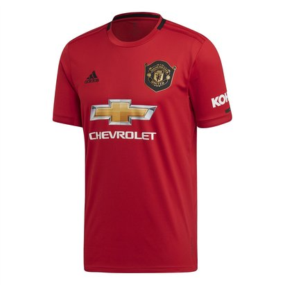 adidas Manchester United 19/20 Home S/S Football Shirt