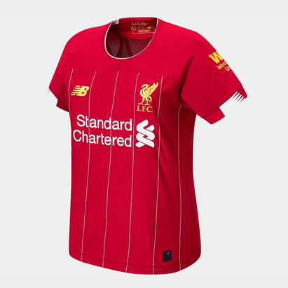 New Balance Liverpool Home Shirt 2019 2020 Ladies