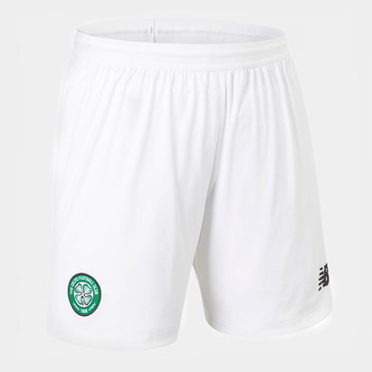 New Balance Celtic 19/20 Kids Home Football Shorts
