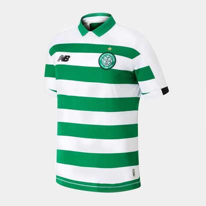 New Balance Celtic 19/20 Kids Home S/S Football Shirt