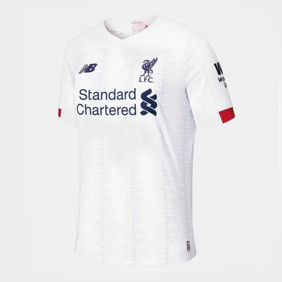 New Balance Liverpool 19/20 Kids Away S/S Football Shirt