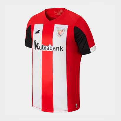 New Balance Athletic Bilbao 19/20 Home S/S Replica Football Shirt