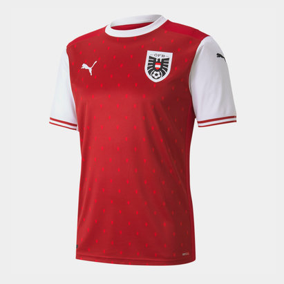 Puma Austria 2020 Home Football Shirt