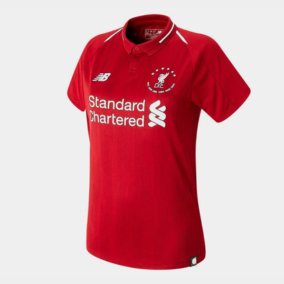 New Balance Liverpool 6 Times Football Shirt Ladies
