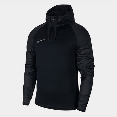 Nike Academy Hooded Drill Top Mens
