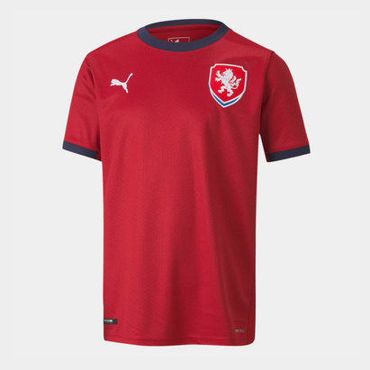 Puma Czech Republic 2020 Kids Home Football Shirt