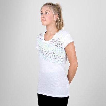 Canterbury CCC Pattern Print Ladies T-Shirt