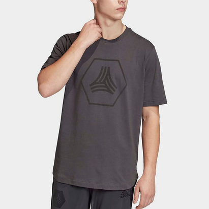 adidas Mens Football Tango Logo T Shirt
