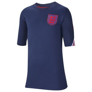 Nike England 2020 Kids Football Strike Top