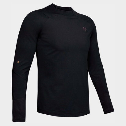 Under Armour ColdGear Rush Mock T Shirt Mens