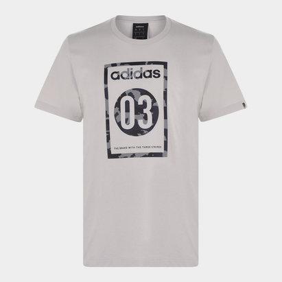 adidas 03 Camo T Shirt Mens