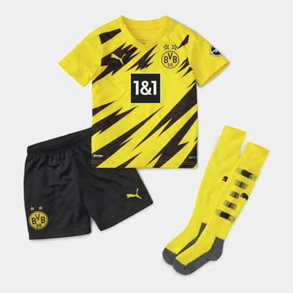 Puma Borussia Dortmund Home Mini kit 20/21