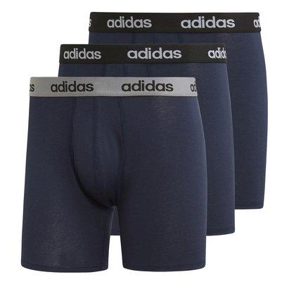adidas 3 Pack Performance Boxer Shorts Mens