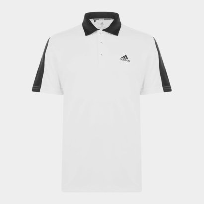 adidas Bold Brand Golf Polo Shirt Mens
