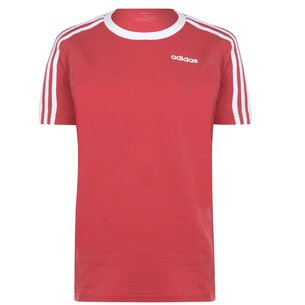 adidas 3 Stripe T Shirt Ladies