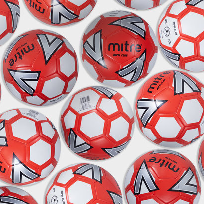 Mitre Impel Club Football Size 5 - Pack of 30