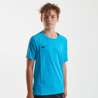Nike Breathe Squad S/S Kids Football Shirt