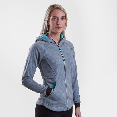 Canterbury Vaposhield Ladies Full Zip Hooded Training Sweat