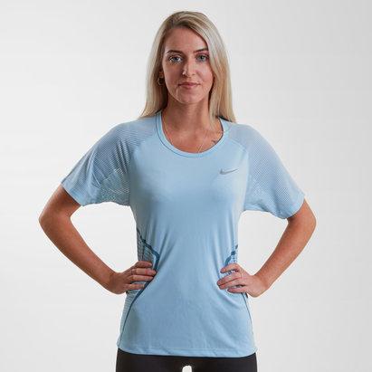 Nike Ladies Dry Miler Running T-Shirt
