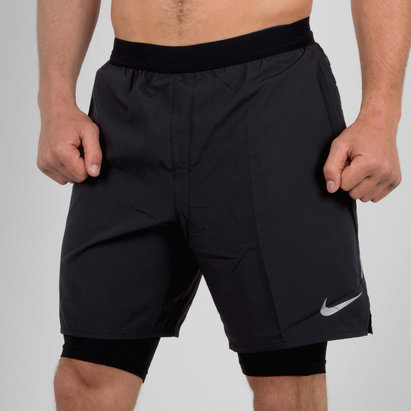 Nike Distance 2 In 1 7 Inch Running Shorts