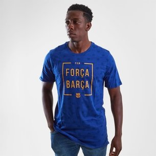 Nike FC Barcelona 2018 Squad Football T-Shirt