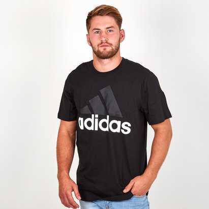 adidas Essential Linear Mens T Shirts