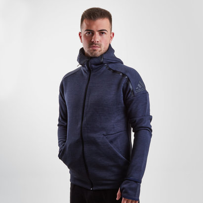 adidas ZNE Full Zip Hooded Training Sweat