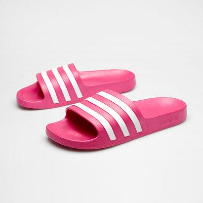 adidas Adilette Aqua Cloudfoam Slide Flip Flops