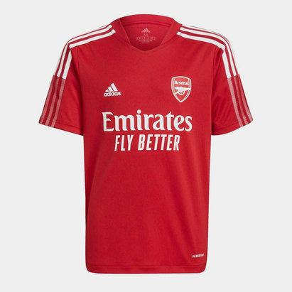 adidas Arsenal Training Shirt 2021 2022 Junior