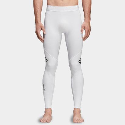 adidas Alpha Skin 3 Stripe Mens Long Tights