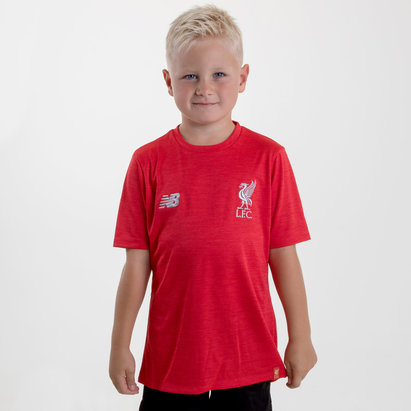 New Balance Liverpool FC 18/19 Kids Football Training T-Shirt