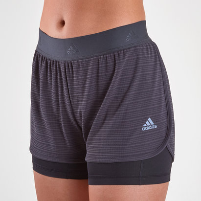 adidas ClimaChill 2 In 1 Ladies Shorts