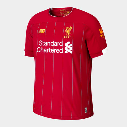 New Balance Liverpool FC 19/20 Home S/S Football Shirt