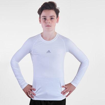 adidas Alphaskin Kids L/S Compression T-Shirt