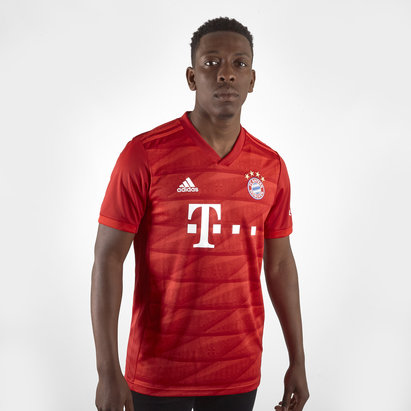 adidas Bayern Munich 19/20 Home S/S Replica Football Shirt