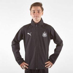 Puma Newcastle United 19/20 Kids Football Rain Jacket