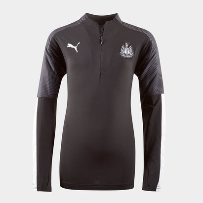 Puma Newcastle United 19/20 Kids 1/4 Zip Training Top