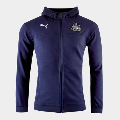 Puma Newcastle United 19/20 Full Zip Hooded Sweat