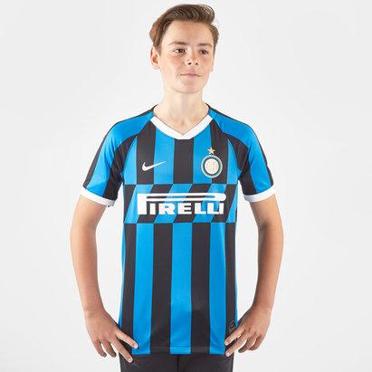 Nike Inter Milan Short Sleeve T Shirt Juniors