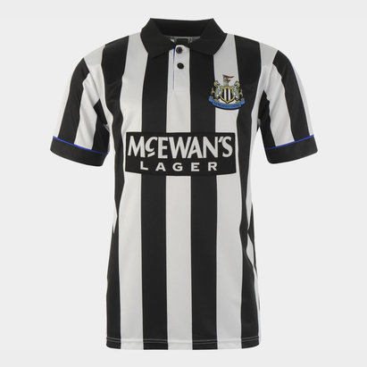 Score Draw Newcastle United Football Club 1995 Home Jersey Mens