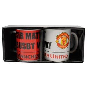 Manchester United Twin Mug Set