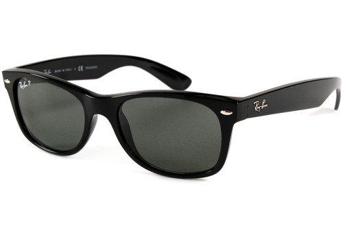 Ray-Ban 2132 Wayfarer Black Polarized Sunglasses