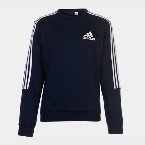 3 Stripes Crew Sweatshirt Mens