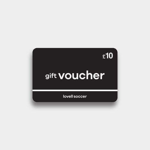 Lovell Soccer £10 Virtual Gift Voucher