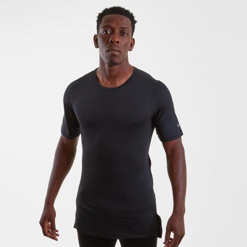 Dry Short Sleeves Training Top Mens