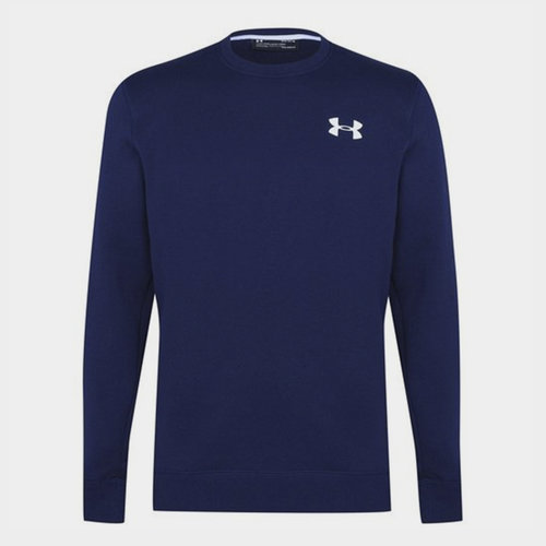 Armour Rival Solid Fitted Sweatshirt Mens