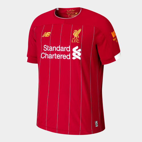 Liverpool FC 19/20 Kids Home S/S Football Shirt